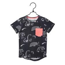 T-shirt Djungel, Grå, Mumin, strl 110