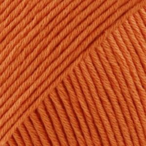 Drops Safran Garn Bomull 50 g apelsin 28