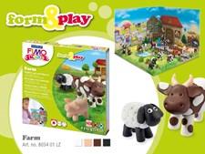 FIMO kids -muovailupakkaus Maatila