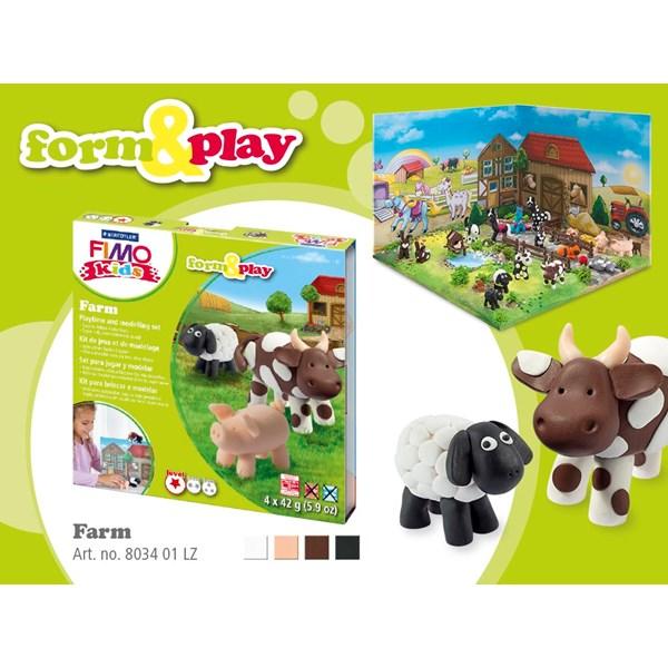 FIMO Lera Lantgård  STAEDTLER Fimo® Kids - modellera