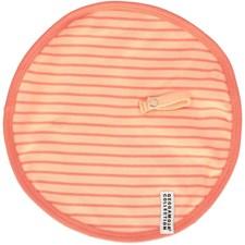 Snuttefilt med napphållare, Persika, Geggamoja