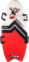 Foam Board, Snow Rocket 118 cm, Fishtail, Röd, Stiga