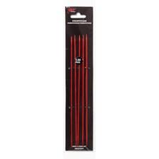 Strømpepinner 15cm/3,50mm Rød