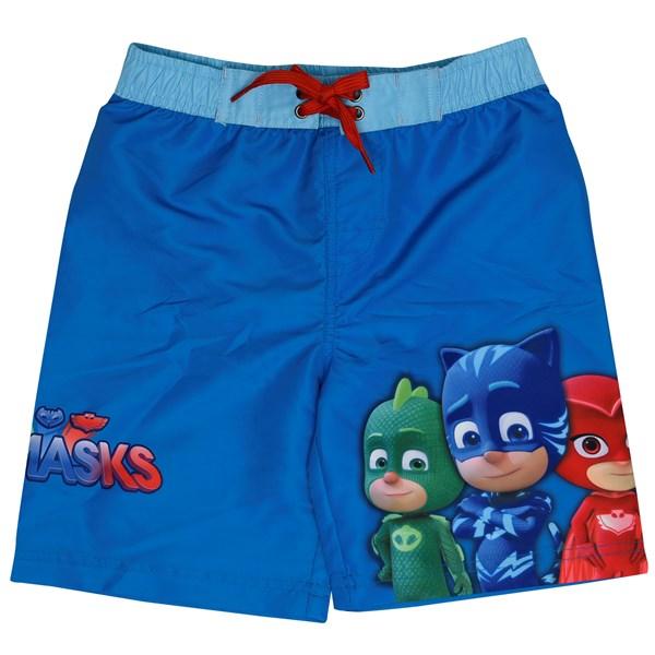 Badshorts Pyjamashjältarna  Blå  strl 4år - badkläder & uv-kläder
