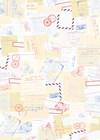 Decoupagepapir Internasjonal Post, 30 x 42 cm