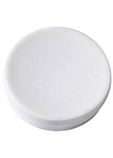 Magneettinappi Actual 40 mm valkoinen (4 kpl)