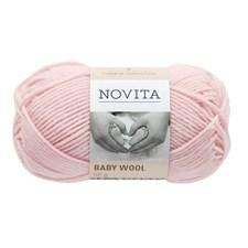 Novita Baby Wool Ullgarn 50 g rosa 515
