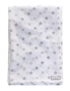 Littleheart Little Star Muslinfilt 100% Ekologisk Bomull 80 x 120 cm Grå