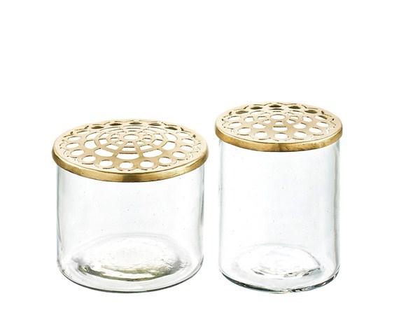 A Simple Mess Vas Kastanje 2-delar Glas - vaser