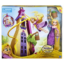 Disney Princess Tangled Swinging Locks Castle