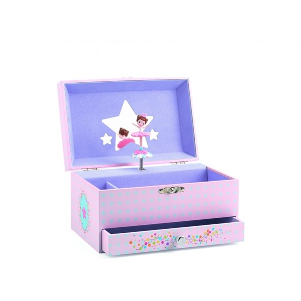 Smyckeskrin  Ballerina  Djeco - barnrumsförvaring