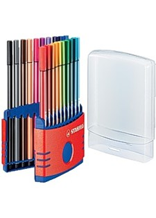 Kuitukärkikynä STABILO Pen 68 (20 kpl)