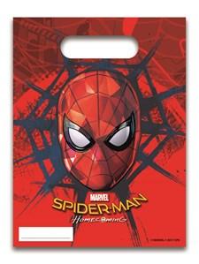 Spiderman Homecoming Godispåsar, 6 st