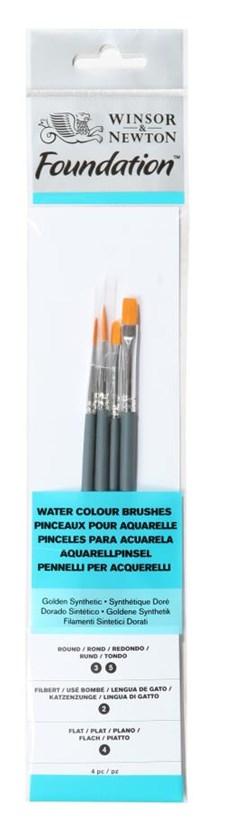 Penslar med Syntetborst för akvarell & akryl