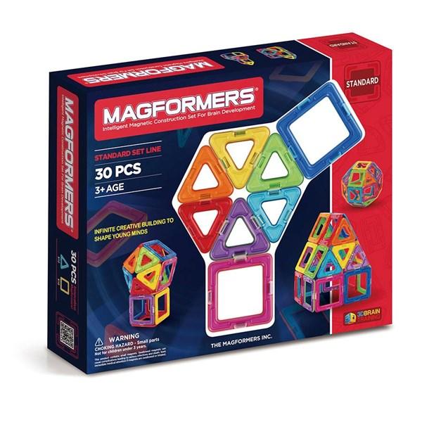 Magformers - 30 delar - klossar & byggleksaker