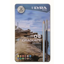 Lyra Graduate Aquarell 12-pack