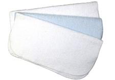 Tvättlappar 3-pack, Ljusblå, NG Baby