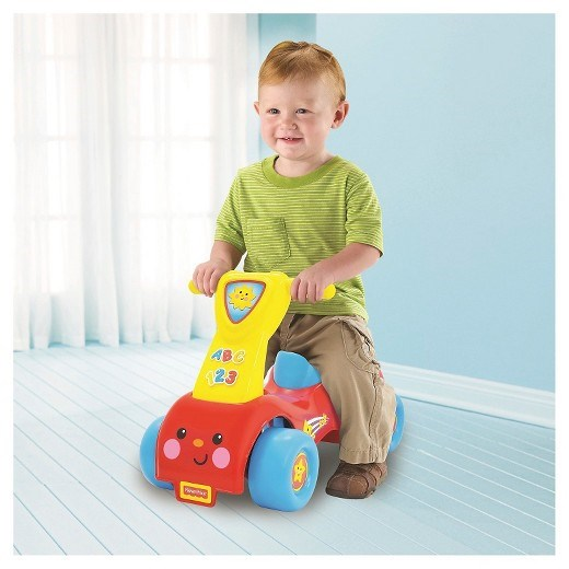Push'n Scoot, Ride-On, Sparkebil, Fisher-Price