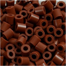 Fotohelmet, koko 5x5 mm, aukon koko 2,5 mm, 6000 kpl, suklaanruskea (27)