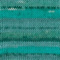 Drops Fabel Print Garn Ullmix 50g Blue Lagoon (340)