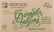 Biofood Tärning Grönsaksbuljong 80 g Ekologisk