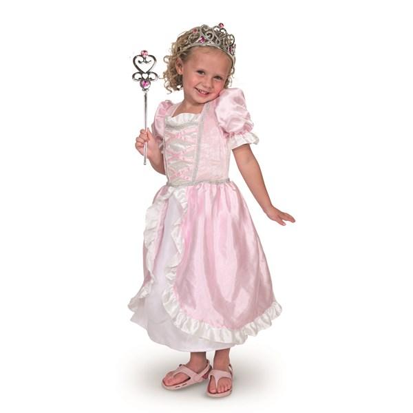 Prinsessklänning med tiara och stav 411cbb0fb114a