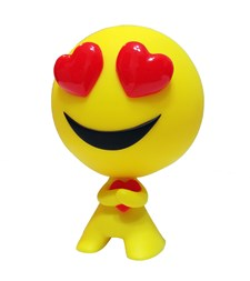 Emoji, Allstarz Figur, Heart eyes, 9,5 cm