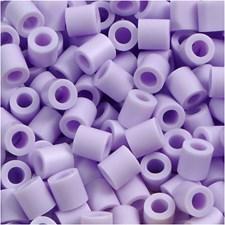 Rørperler, str. 5x5 mm, hullstr. 2,5 mm, 6000 stk., lilac (24)