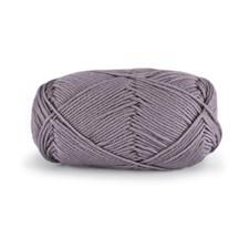 Dale Garn Lerke Ull Bomull Mix 50 g Grå Lavendel 8102
