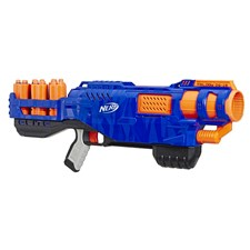 Trilogy DS-15 Nerf N-Strike Elite Toy Blaster with 15 Official Nerf Elite Darts and 5 Shells