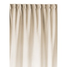 Linum Paolo Verho Laskosnauhalla 100% Puuvilla 135 x 290 cm Creamy Beige