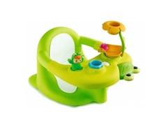 Badstol med lekbord, Grön, Cotoons