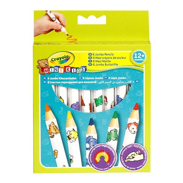 Ritpenna Jumbo Barn Från 12mån Crayola 8-pack