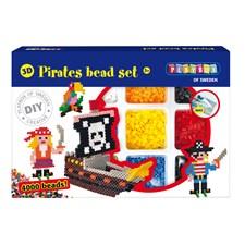 Perlesett, Pirater, 3D, 4000 perler, Playbox
