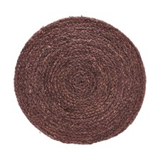 House Doctor Bordstablett Circle 4 pack D: 38 cm Henna