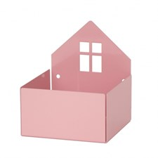 Förvaringslåda Hus, Rosa, Roommate