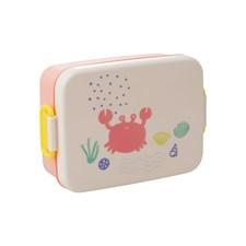 Rice Ocean Life Print Luncbox med Skiljevägg Coral