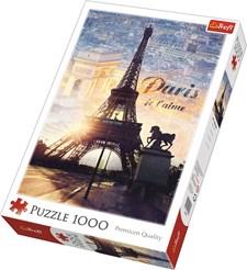 Paris, Puslespill, 1000 brikker, Trefl