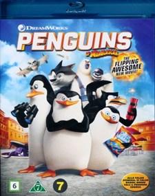 Pingvinerna från Madagaskar (Blu-ray)