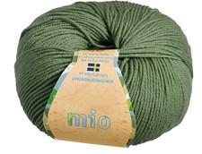 Mio Garn Merinoull 50g Olivgrön (30217)