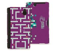 Joystick Junkies NDSi Hard Shell Green/Purple Pacman