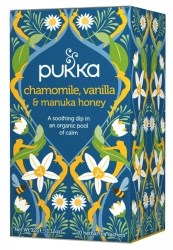 Pukka Te Chamomile Vanilla & Manuka Honey Tepåsar 20 st Ekologisk
