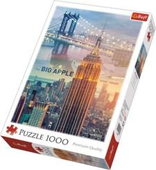 New York, Puslespill, 1000 brikker, Trefl