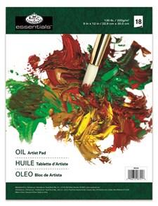 Block Oljemålning A4 Texturerat Papper 18 Ark Royal & Langnickel