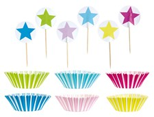 Cupcake-sett, Party, Miks, Jabadabado