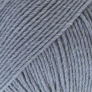 Drops, Cotton Merino Uni Colour, Garn, Ullmiks, 50 g, Jeansblå 16