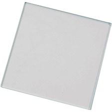 Glassplate, str. 7,5x7,5 cm, 20stk.