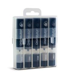Chameleon Color Tops Pen Marker Tushpennor - Gray Tones