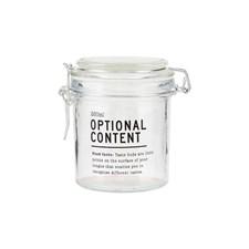 Glasskrukke med lokk, 250 ml, House Doctor