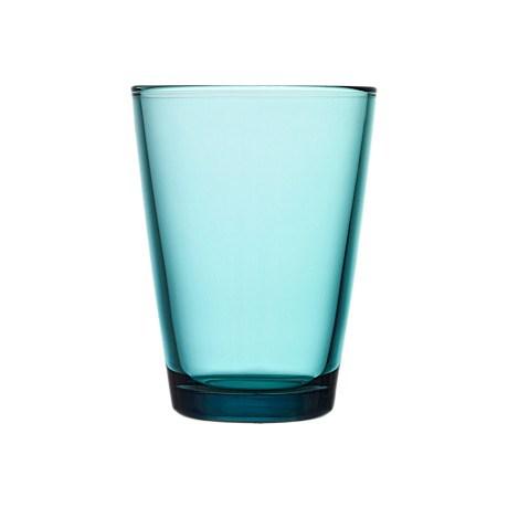 Iittala Kartio Glas 2-pack 40 cl Havsblå